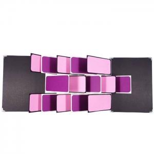 Fly scrapbook purple