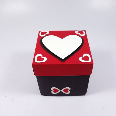 Endlless love box red