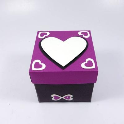 Endless love box purple