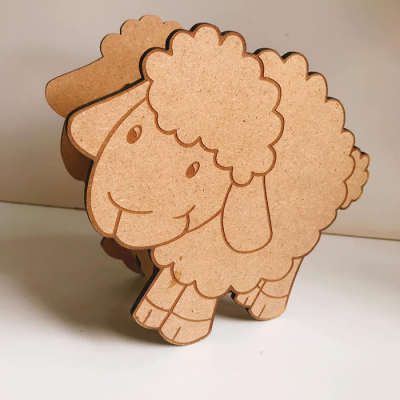 Hộp bút cừu con