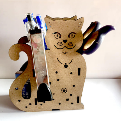 Hộp bút mèo con